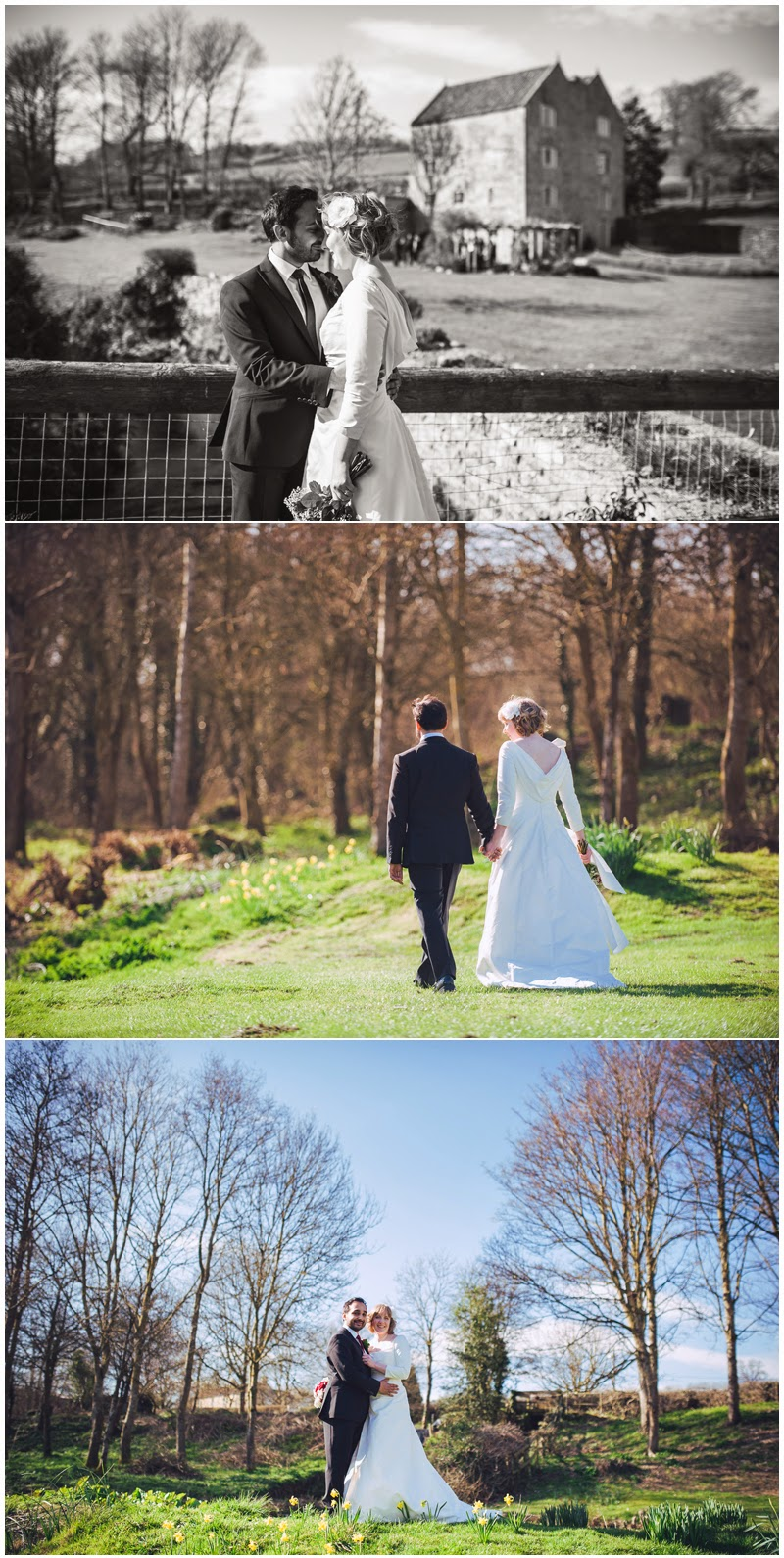 Wedding photography at The Watermill, Priston Mill