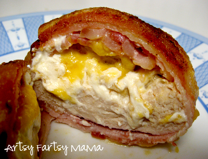 Chicken philly recipe with bacon