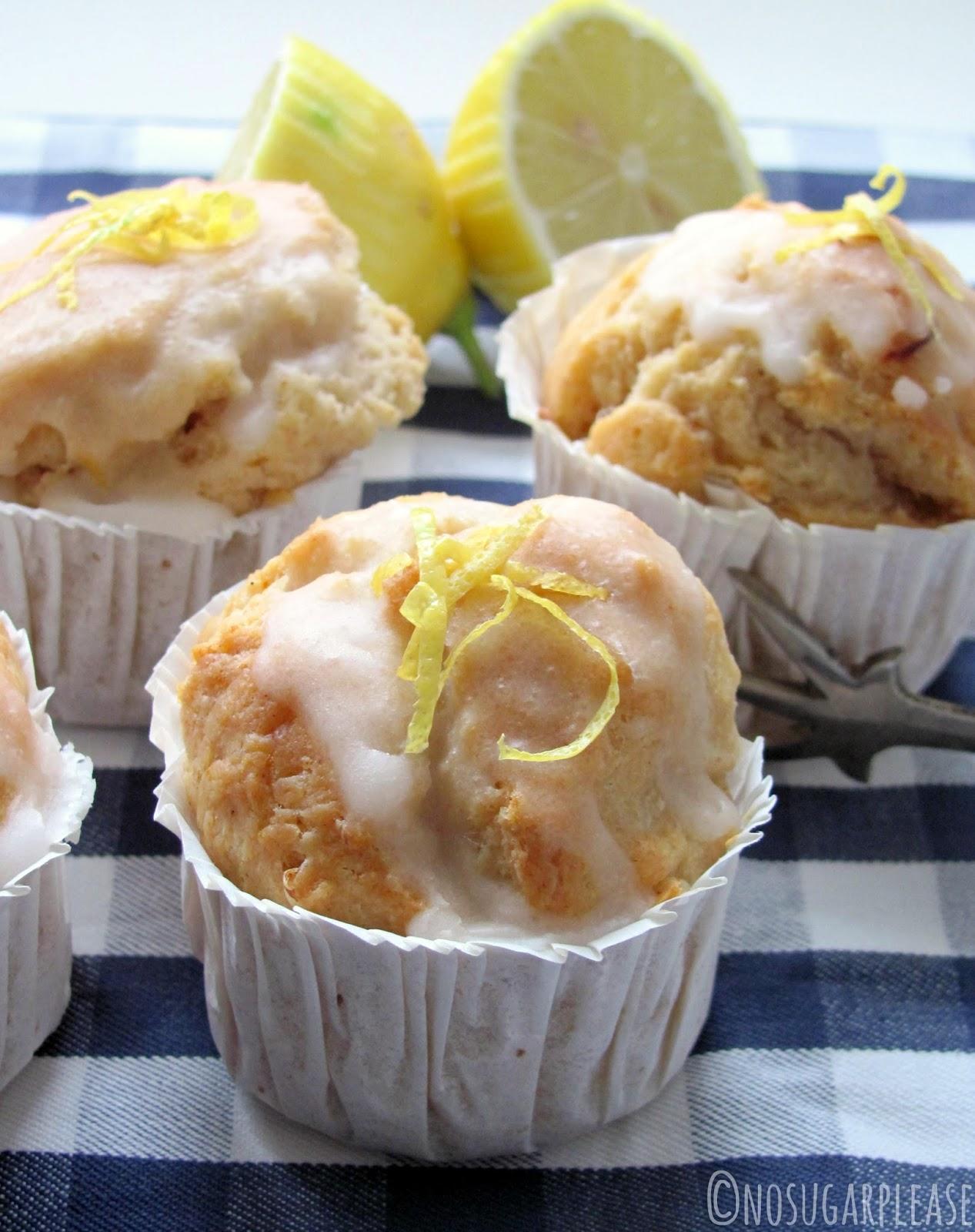 muffin al limone senza zucchero