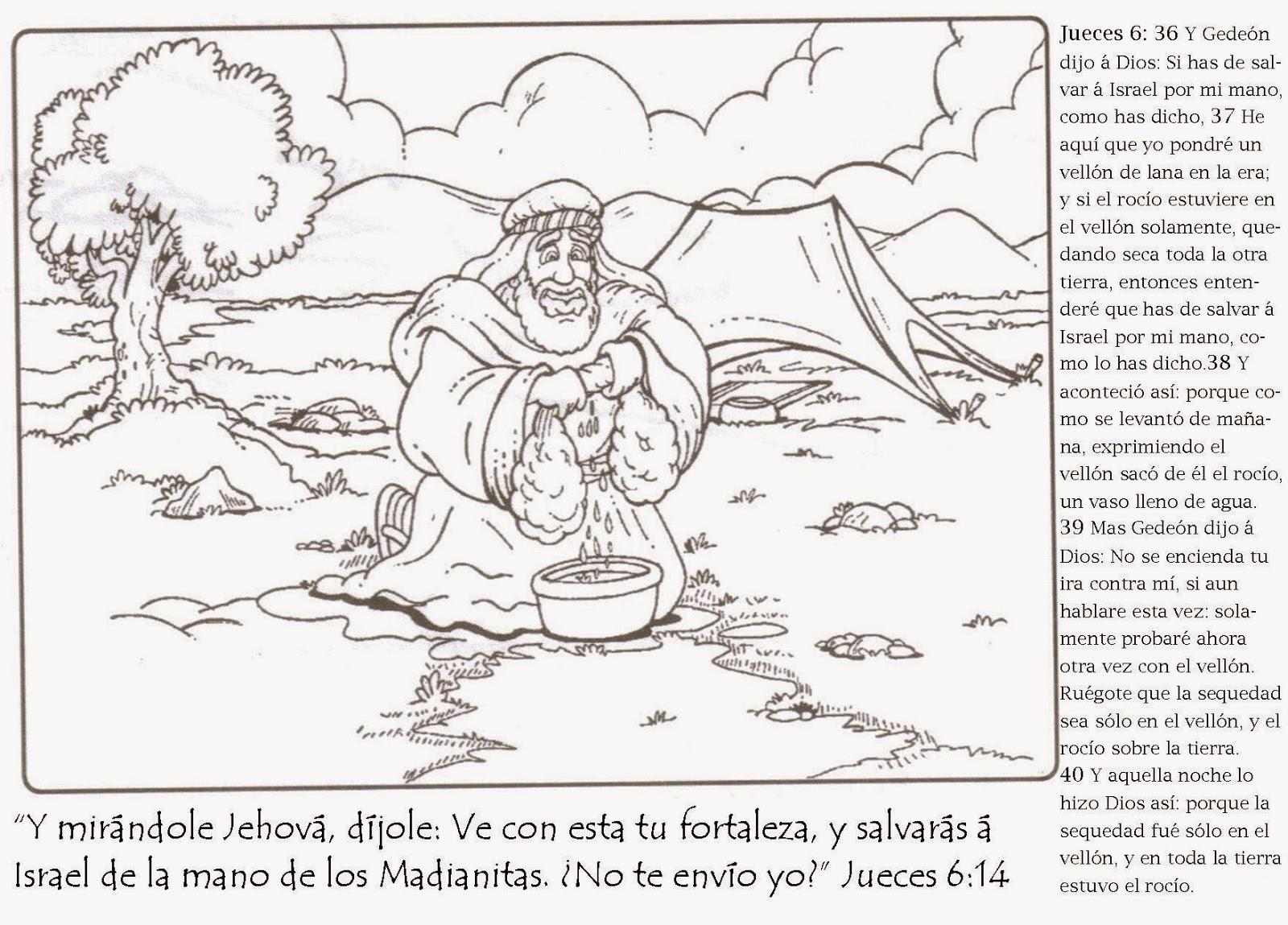 Dorable Gideon Para Imprimir Para Colorear Imágenes - Ideas ...
