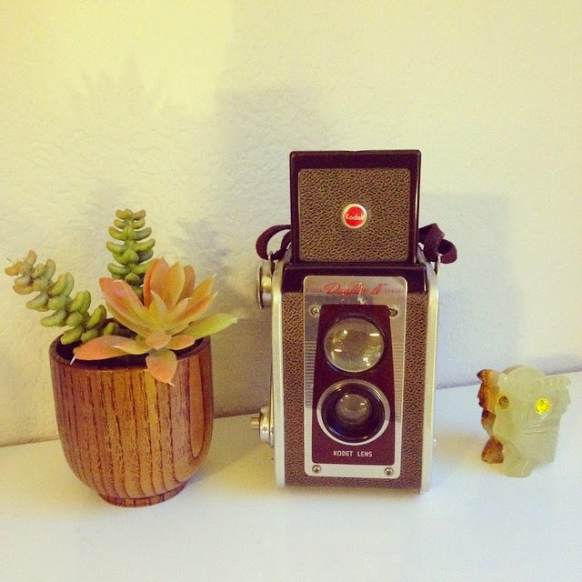 #thriftscorethursday Week 50 | Instagram user: sharbearrrhauls shows off this Vintage Kodak Camera