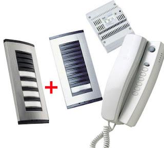 The KIT5SBPT BPT five Way Audio Door Entry Kit