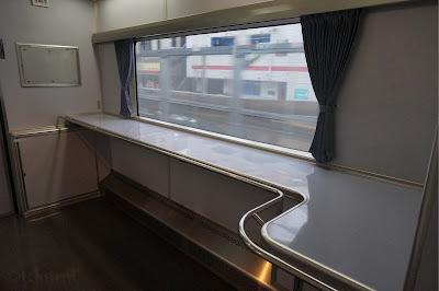 AE100形車内フリースペース