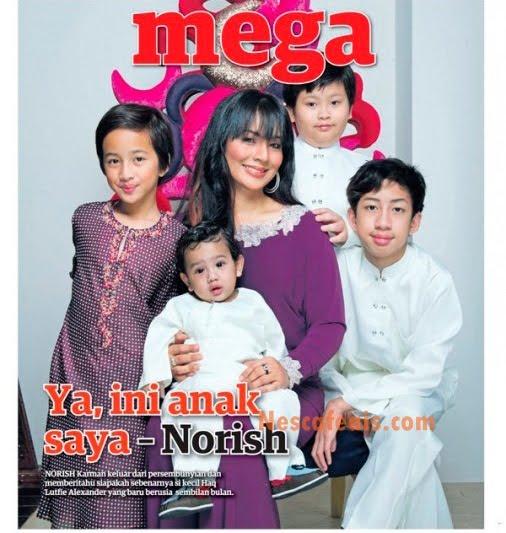 Norish Karman Mengaku Lahir Anak Lelaki, Haq Lutfie Alexander