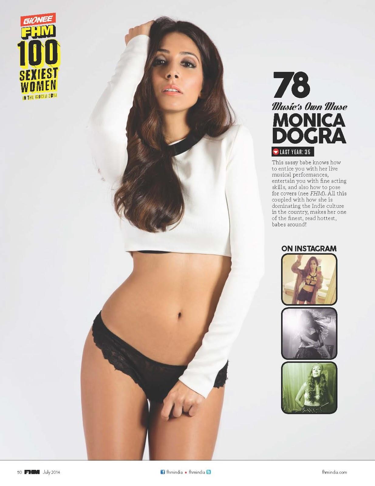 Sexy Monica doghra photo