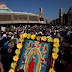 Millones visitan a la Virgen de Guadalupe