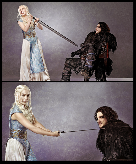 Daenerys Targaryen Emilia Clarke Entertainment Jon Nieve Kit Harington Weekly 2 - Juego de Tronos en los siete reinos