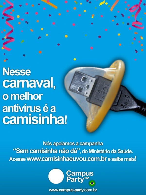 cparty preocupada carnaval camisinha