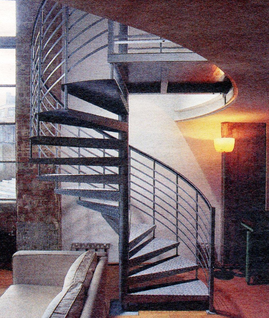 Eclectic european exterior staircase