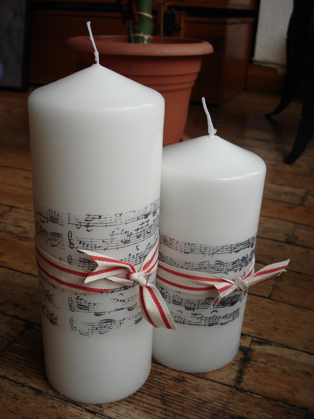 Be mine ideas para decorar y regalar esta navidad - Velas de adorno ...