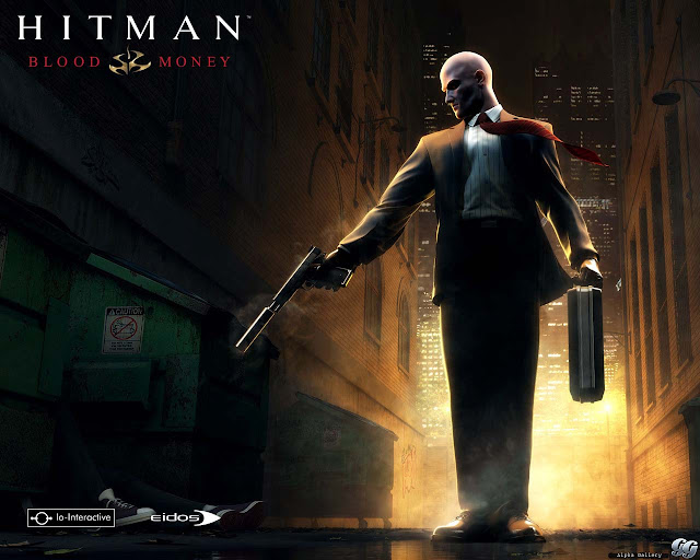 hitman blood money io interactive third first person shooter game