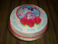 "Carrot Cake  9"" with Edible Image"