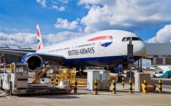 May bay, Đến lượt Anh cấm smartphone, tablet hết pin lên máy bay