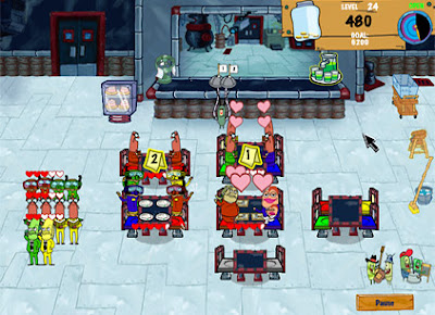 download game memasak Spongebob Diner Dash 2