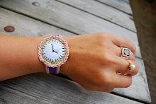 DIY - et hæklet ur
