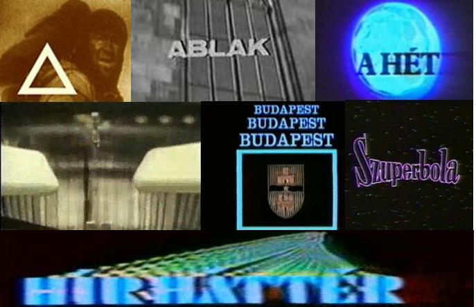 Régi műsorszignálok, főcímzenék a Magyar Tv-ből
