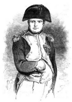 Napoleon from The Life  of Field-Marshal His Grace the Duke  of Wellington by WH Maxwell (1852)