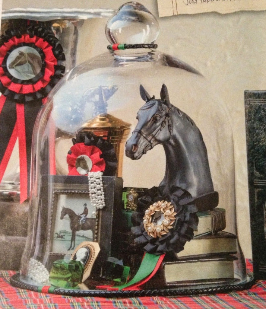 12 Cool Kentucky Derby Inspired Home Decor Ideas: .16lstreet: Equestrian Decor