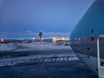 Anchorage ramp while flying with ASIANA