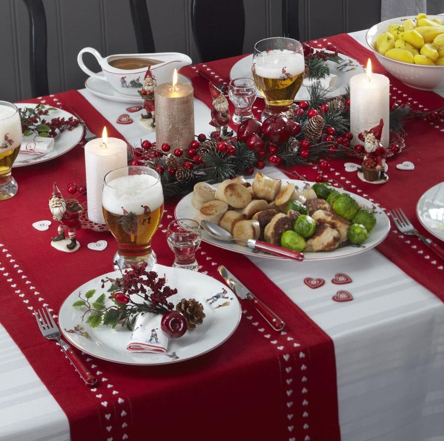 Gledelig jul servise nille