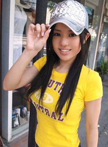 Sora Aoi posando para la prensa