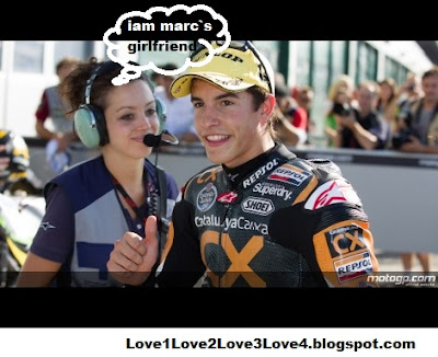 MARC MARQUEZ GIRLFRIEND