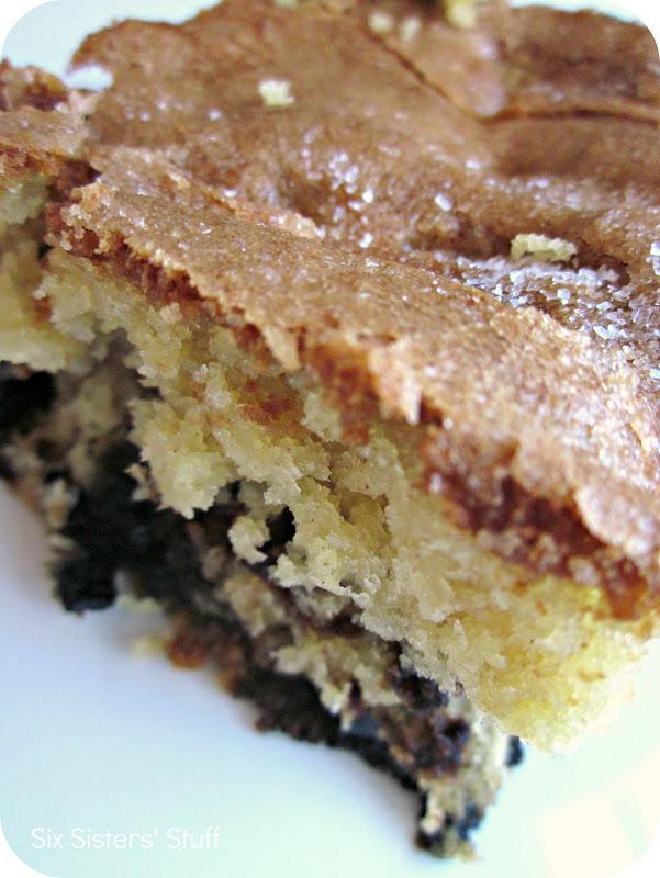 Lemon Blueberry Muffin Cake | Six Sisters' Stuff