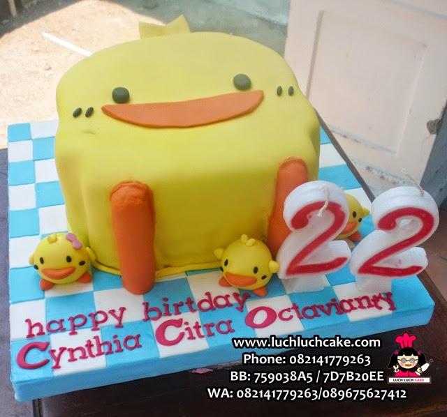 3d cake piyo piyo
