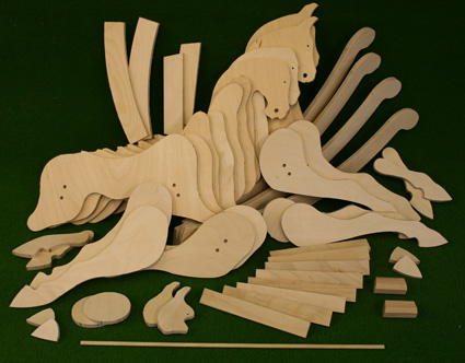 The rocking horse shop october 2012 for What can you make out of horseshoes