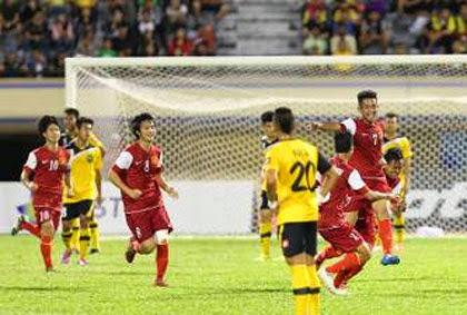 U19 Việt Nam hòa thất vọng trước U21 Brunei