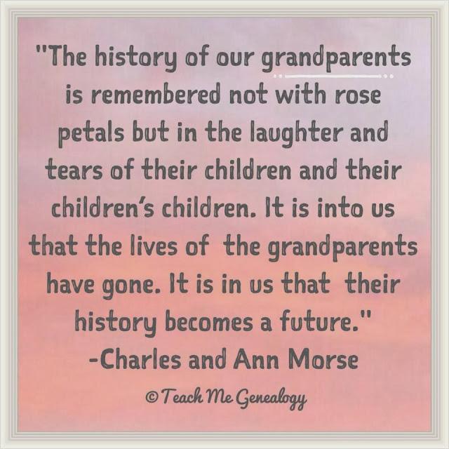 Quotes Loss Of Grandparents. QuotesGram