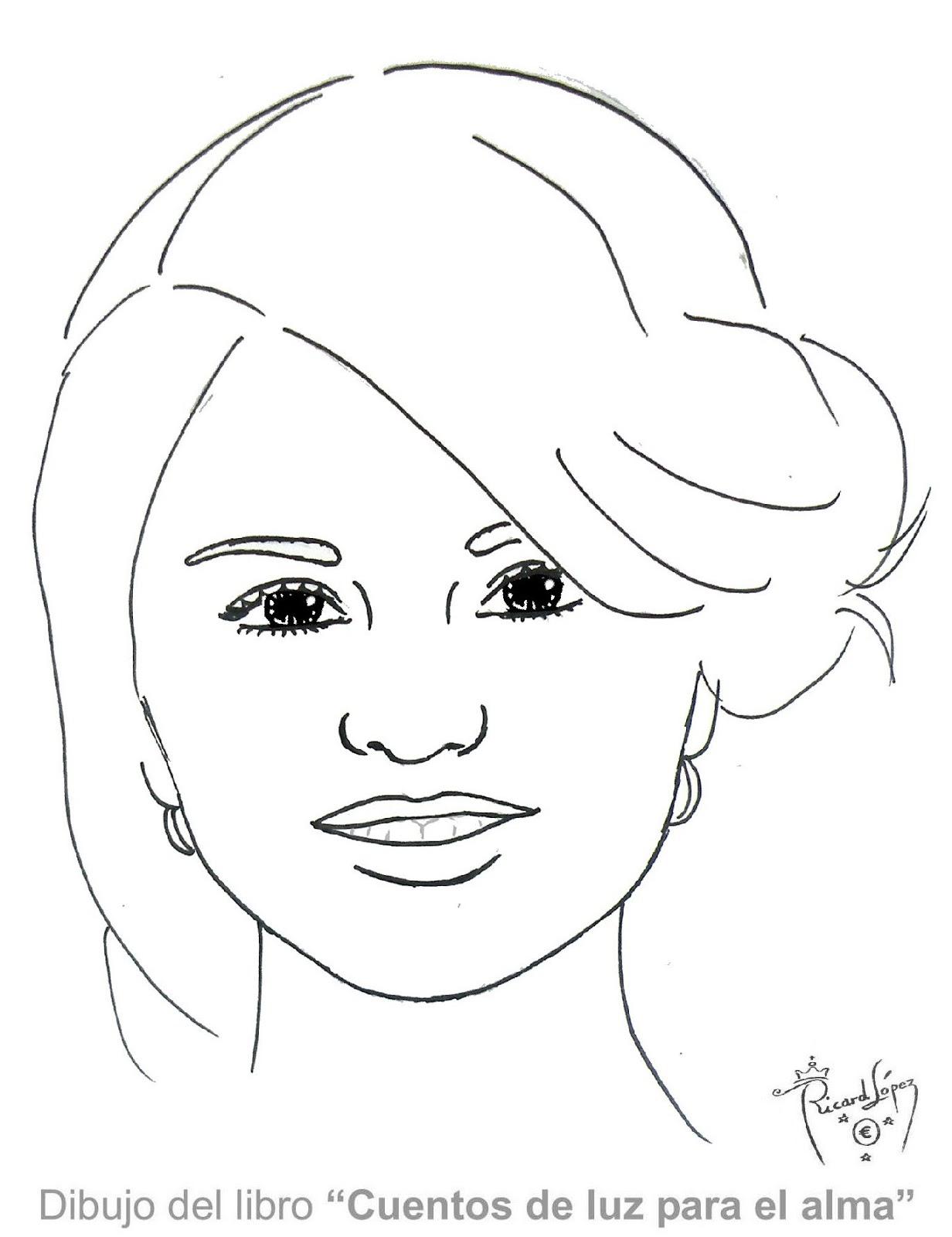 Único Selena Gomez Para Colorear Y Pintar Regalo - Dibujos Para ...