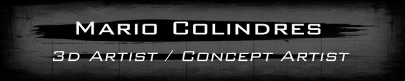 Mario Colindres: 3D Artist / Concept Artist