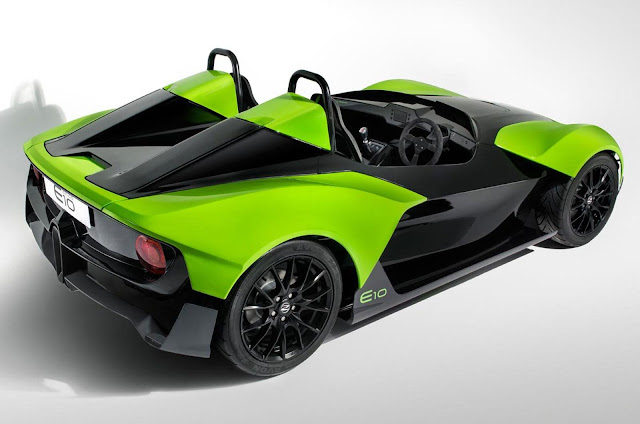 concept Plan Zenos E10 sportcar back view