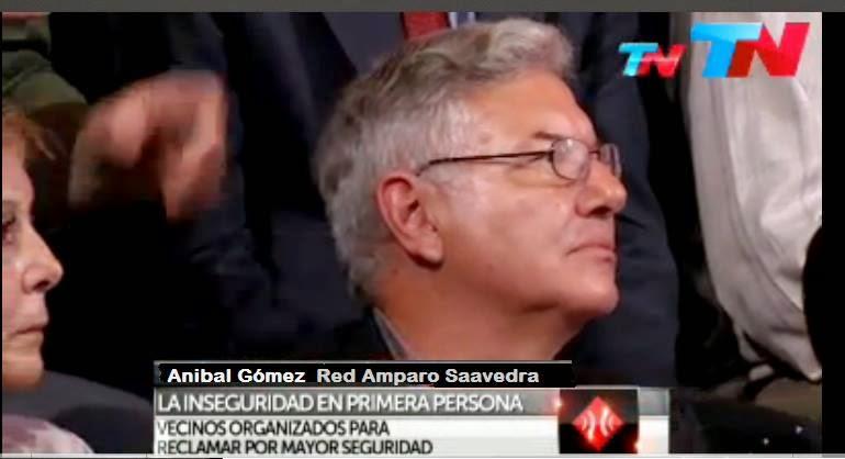 Juan Anibal Gómez, Invitado al Prog. A Dos Voces 15/10/2014or TN 15
