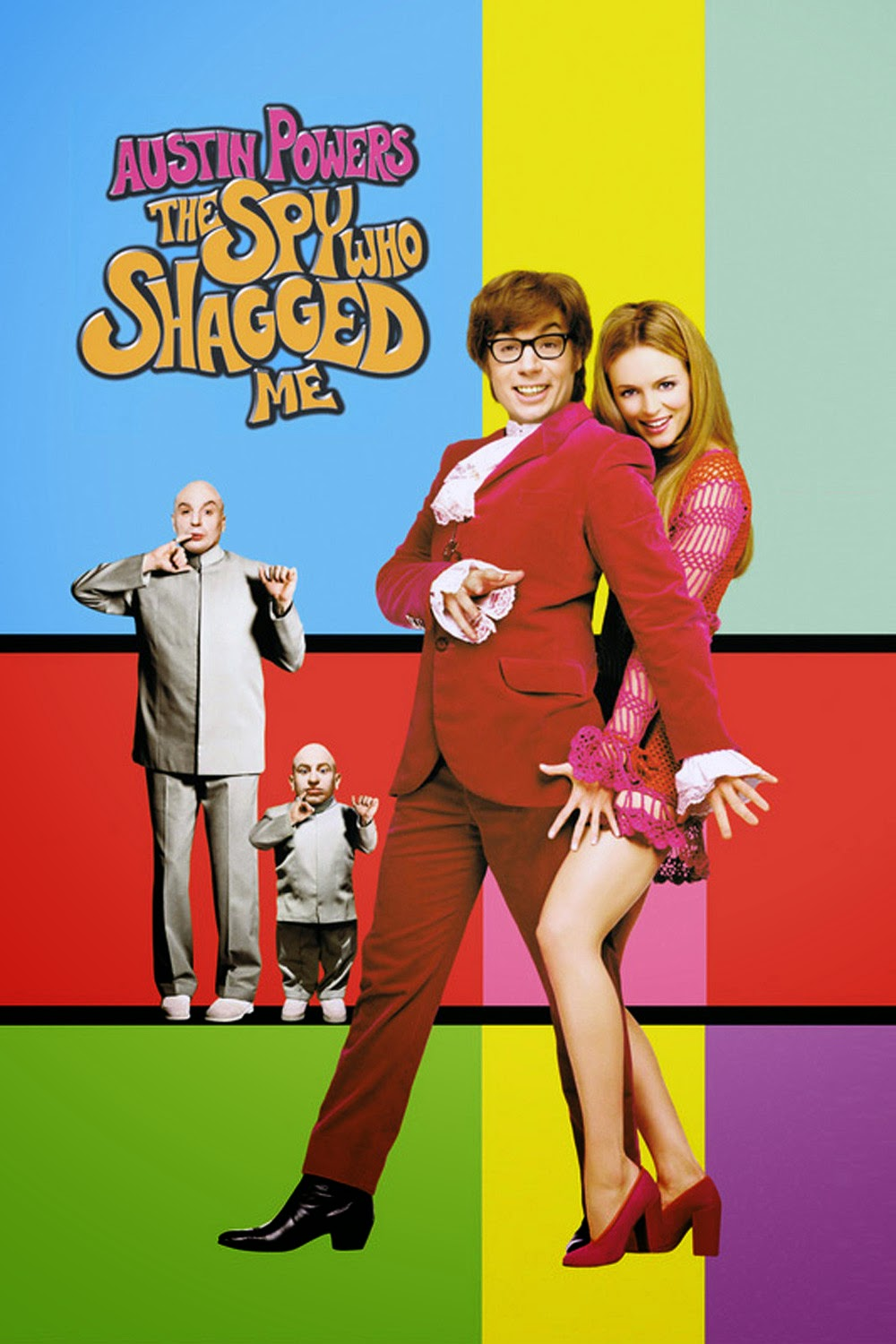 Austin Powers: The Spy Who Shagged Me (1999) Poster