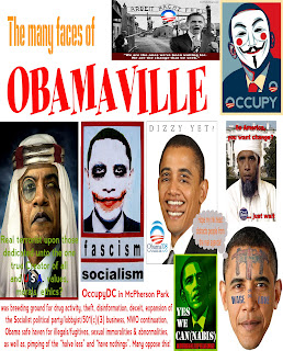 Obamaville, OccupyDC, corruption, decay and evil