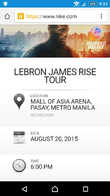 Lebron James Rise Tour: FREE Tickets