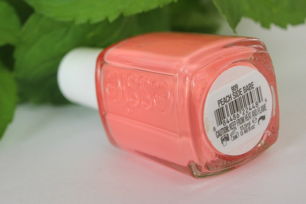 sommer, le, cosmetics, collection, review, nagellack, drogerie, swatches, essie, nailpolish, kollektion, tragebilder, sommer 2015, summer 2015, peach side babe