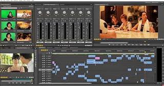 Film editing screen grab