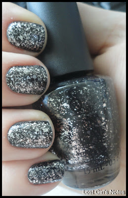 OPI nicki minaj metallic 4 life swatches and review