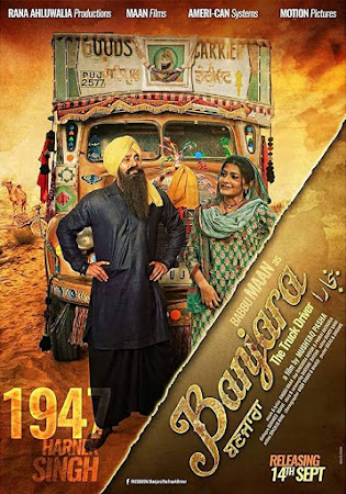 Poster Of Pollywood Movie Banjara: The Truck Driver 2018 300MB PdvdRip 480P Full Punjabi Movie