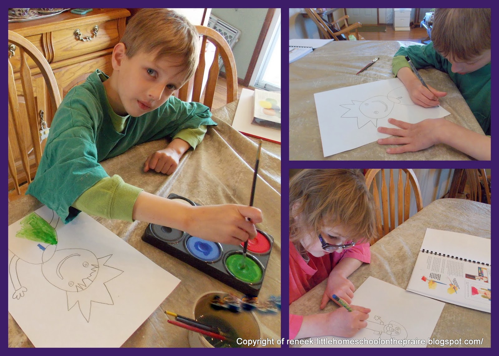 Homeschool art curriculum