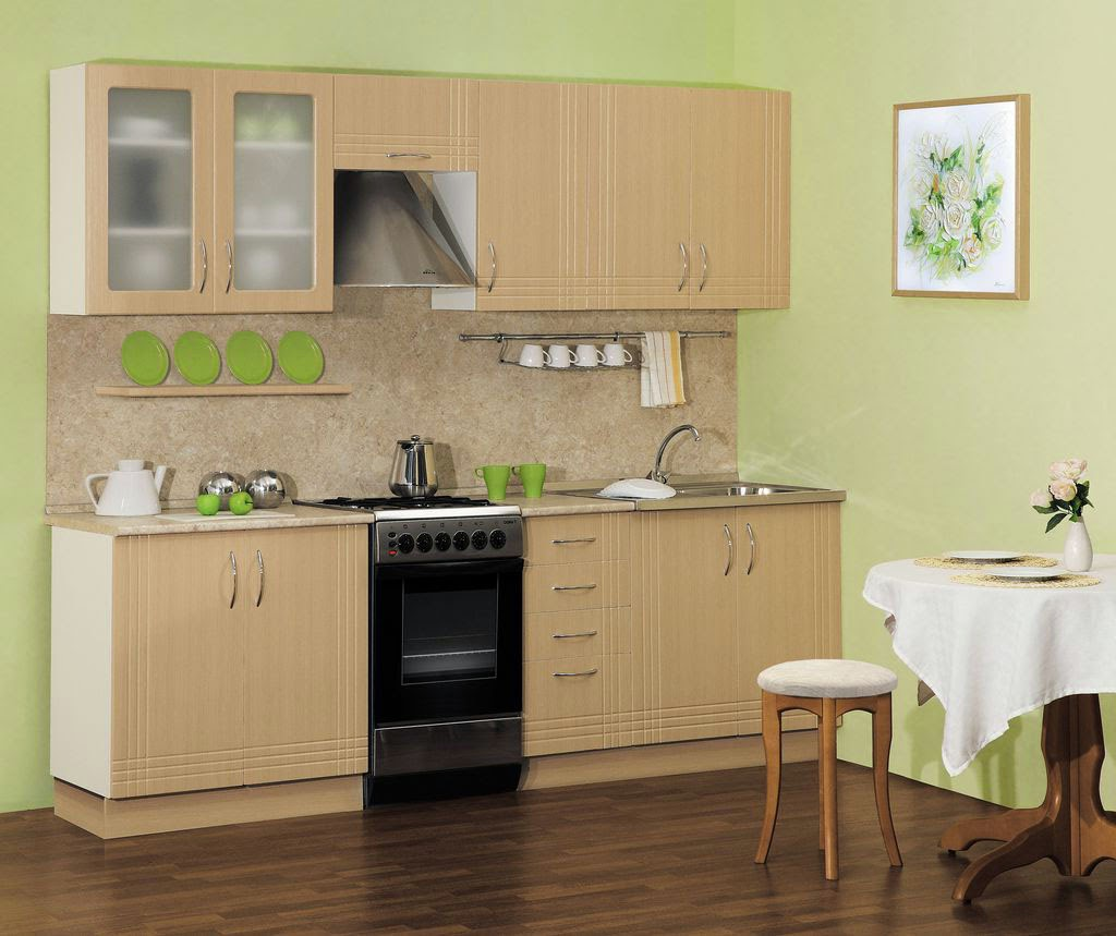 small kitchen design ideas wooden kitchen with integrated apliances
