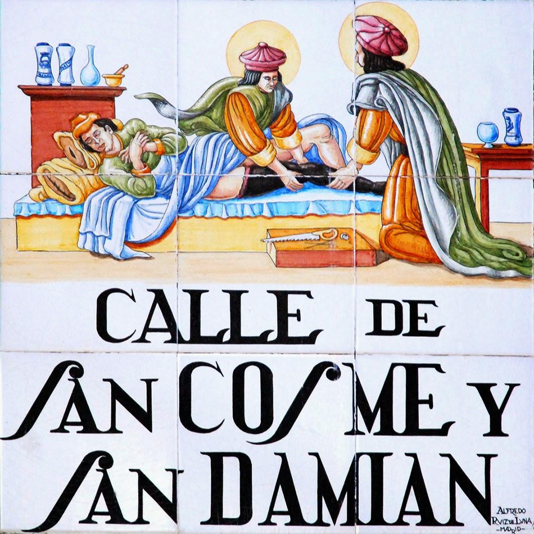 Calle de San Cosme y San Damián