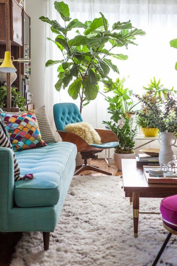 La fabrique d co turquoise bleu vert tropical ou bleu for Decoration interieur couleur