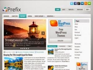 Prefix - Free Wordpress Theme
