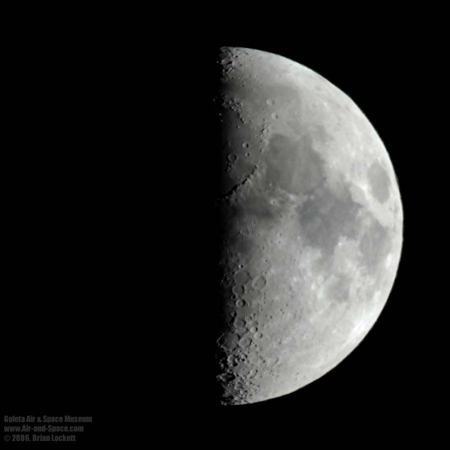 fig 3 a first quarter moon fig 3 b waxing crescent moon
