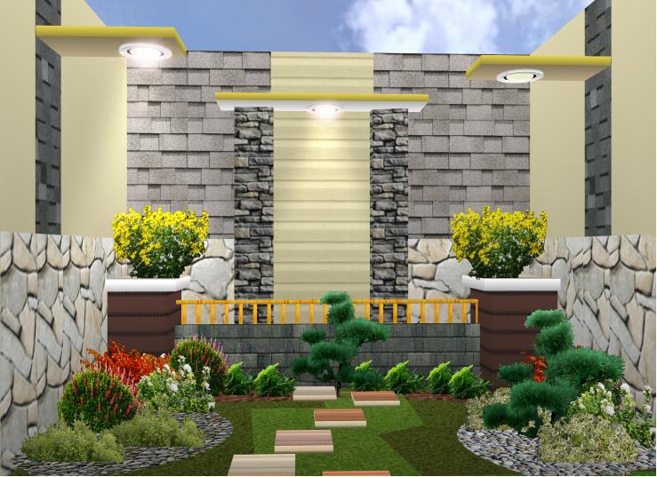 aneka desain taman rumah minimalis terbaru rumah danielle