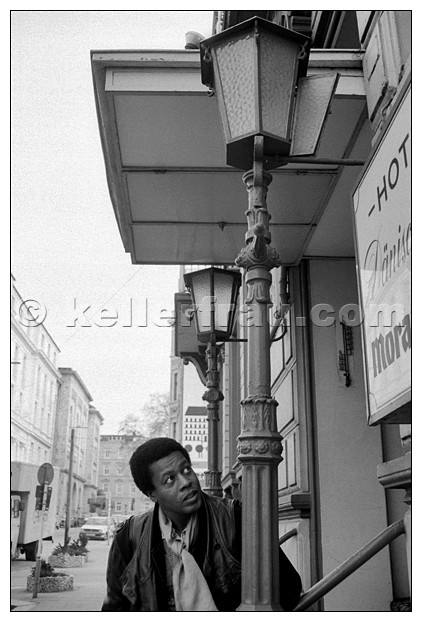 Wayne Shorter, Hamburg, 1987, photo by Moni Kellermann